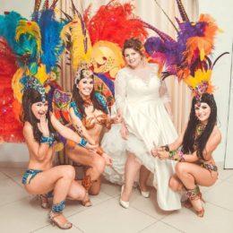 Бразильское шоу с девушками