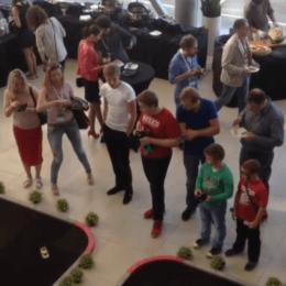 Танцевальный батл в качестве конкурса на мероприятии