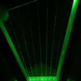 Лазерная арфа на мероприятие