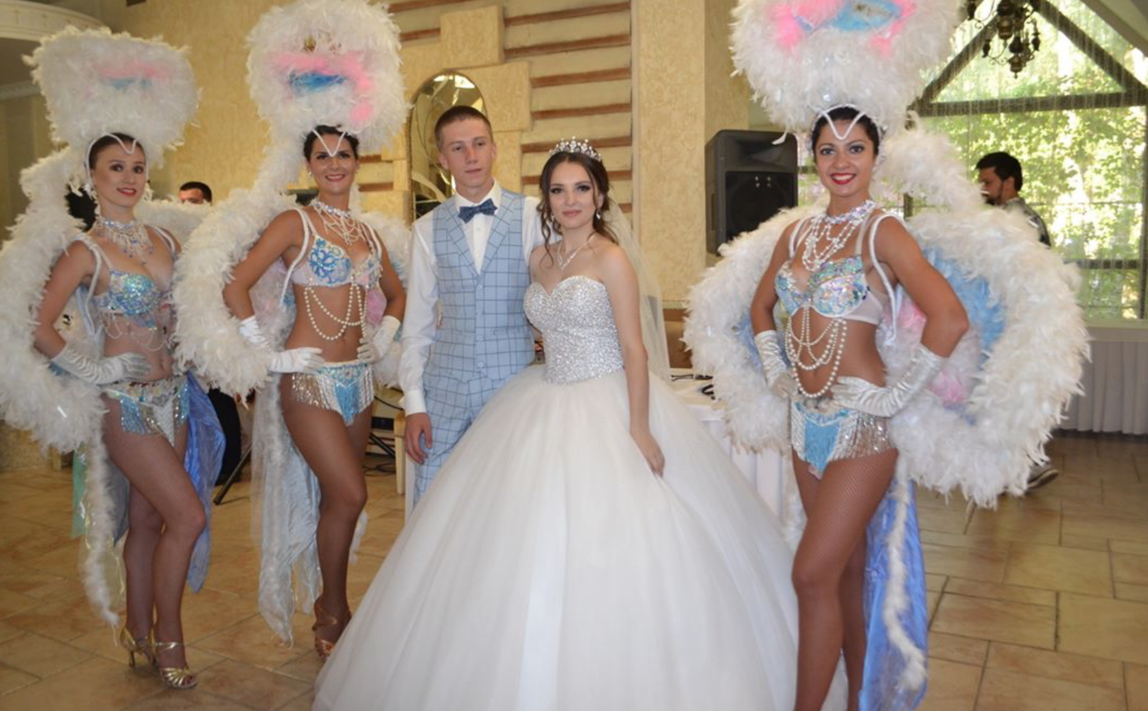 Шоу балет на мероприятие и свадьбу в Москве