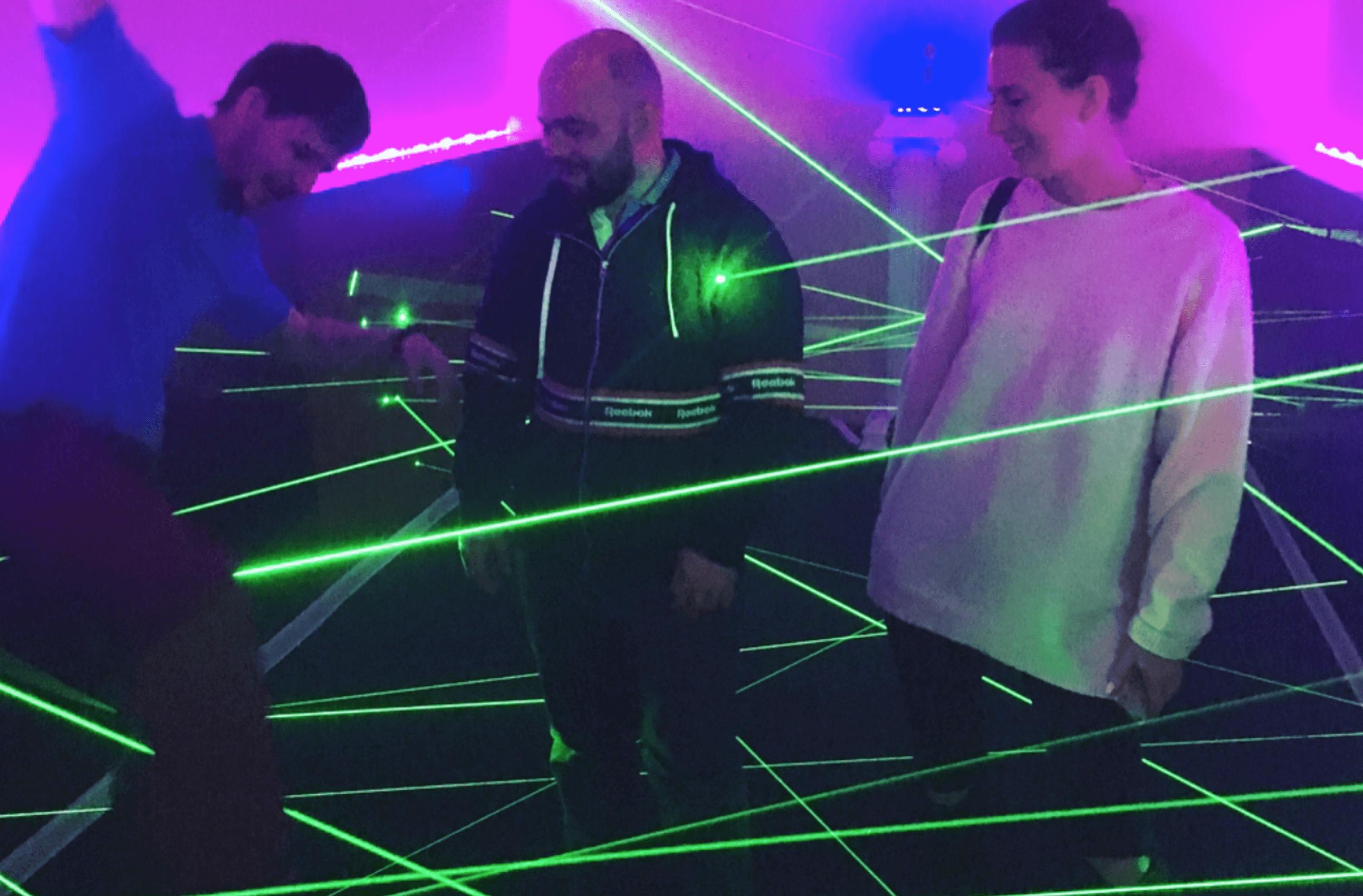 Лазерный лабиринт на мероприятие