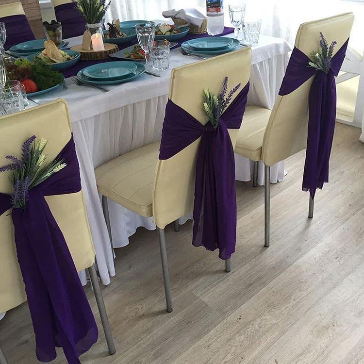 Декор на свадьбу своими руками