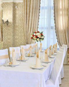 19 оригинальных примеров оформления свадьбы тканью Праздники
