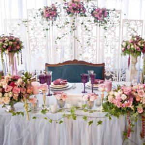 5 принципов оформления столов на свадьбу Праздники