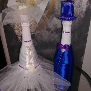 Оформление шампанского на свадьбу: оригинальность и традиции Праздники